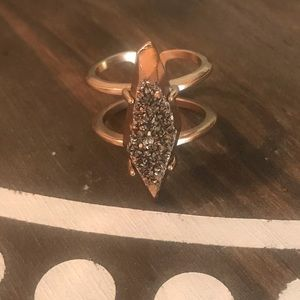 Kendra Scott Rose Gold Color Ring Sz 6